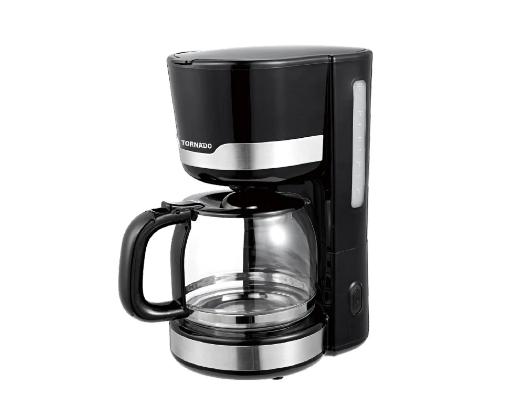 TSET-TKCM-B مجموعة منتجات تورنادو ( توستر + محضرة قهوة + غلاية ) اسود TORNADO